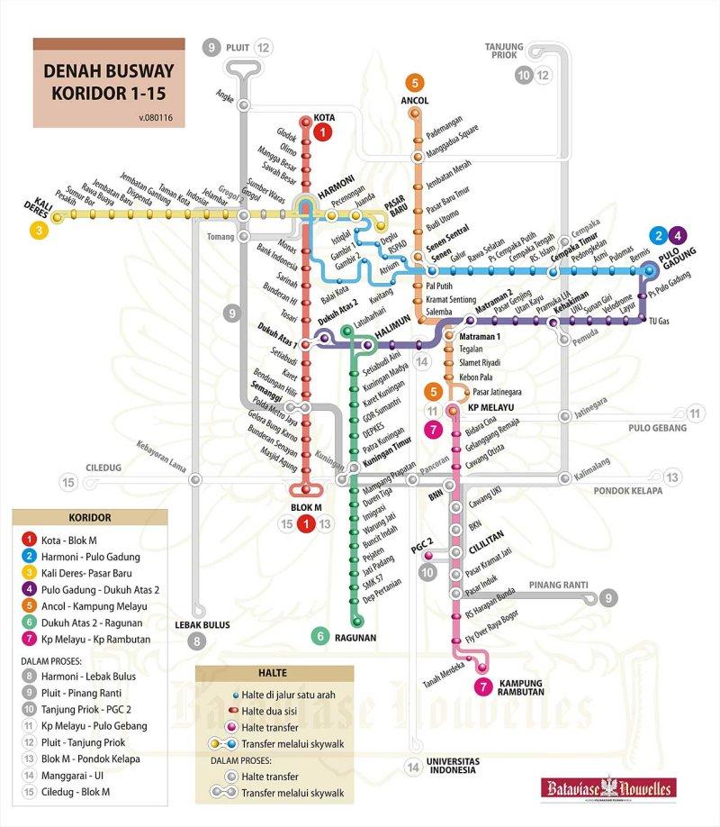 Rute Busway Davi S Blog